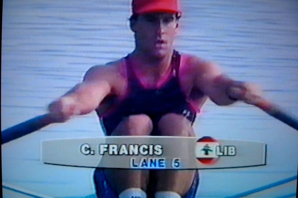 Christian Francis bei den Olympischen Spielen 1992 in Barcelona