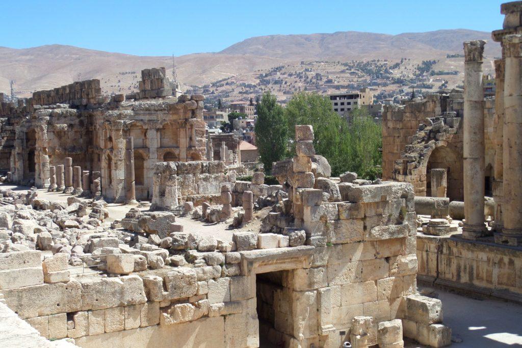 Antike Tempelanlage von Baalbek, Libanon.