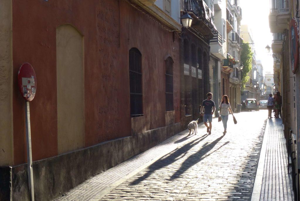 Auf der Straße