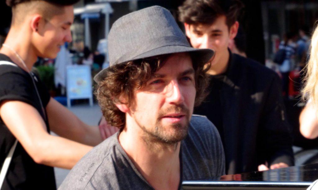 Der Hut ist ein Erkennungszeichen von Joe Löhrmann