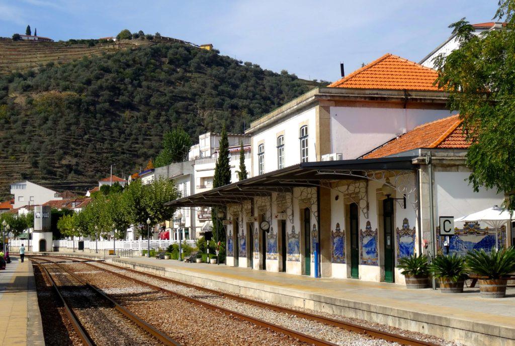 Der Bahnhof von Pinhão