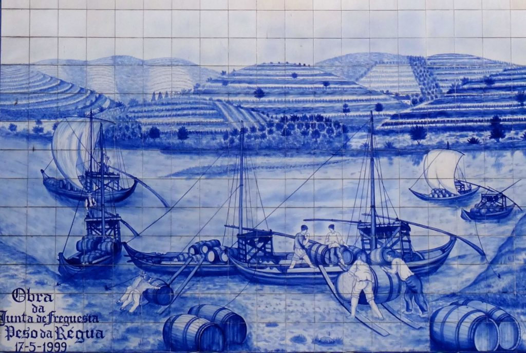 Azulejos in Peso da Régua