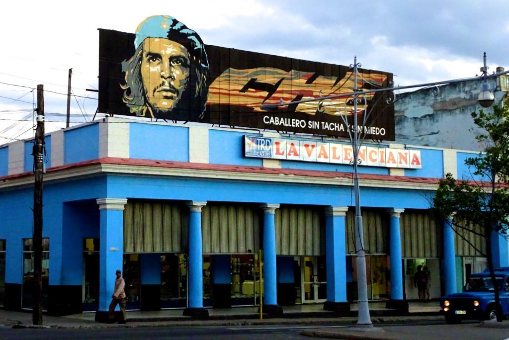 "Der allgegenwärtige ""Che"" Guevara auf dem Paseo del Prado"