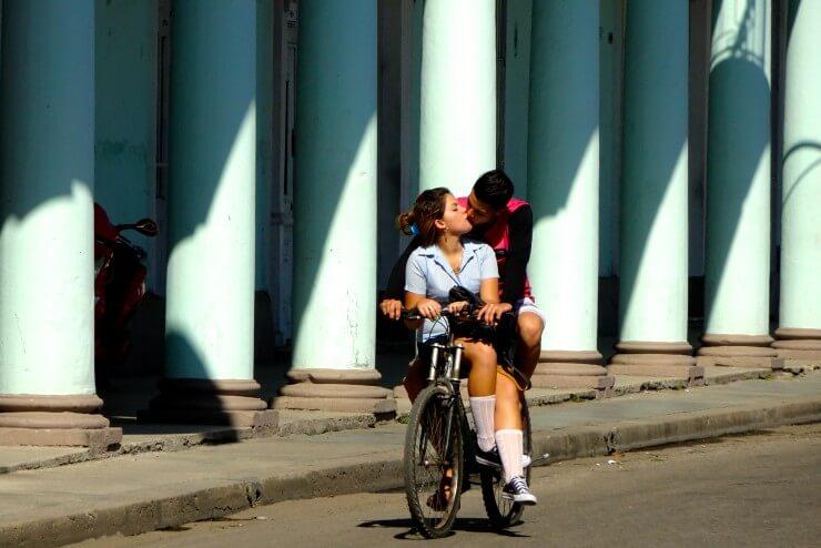 Impressionen vom Paseo del Prado in Cienfuegos