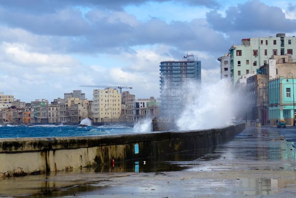 Erste Impressionen von Havannas Uferpromenade
