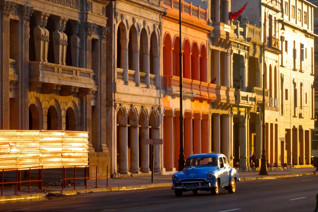 Goldene Stunde am Malecón