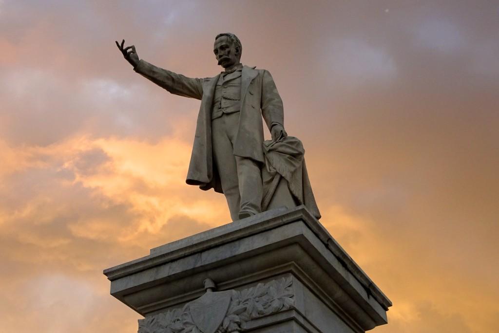 Statue des Volkshelden José Martí