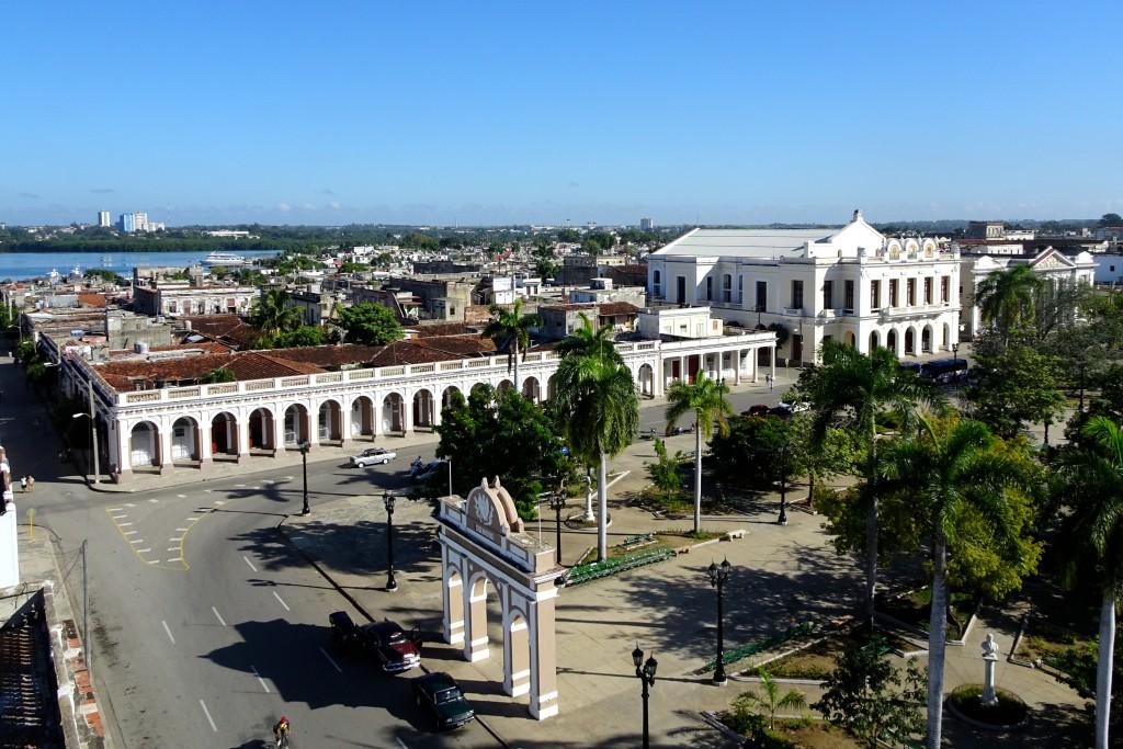 Blick über den Parque José Martí