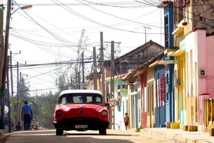 In den Straßen von Gibara