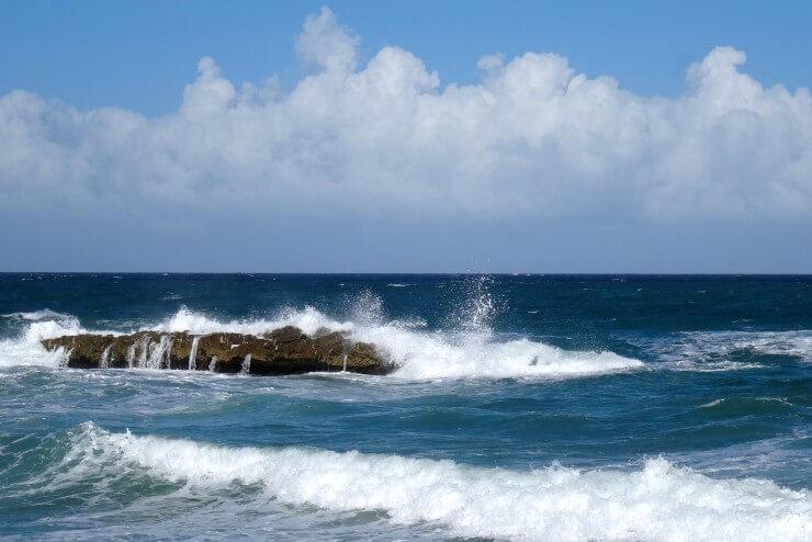 Gibara Kuba, Küstenimpressionen auf dem Weg zur Playa Caletones