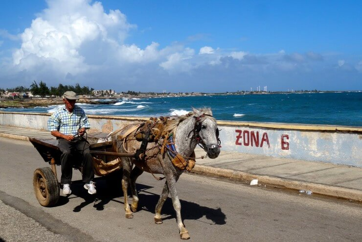 Gibara Kuba, Impressionen vom Malecón