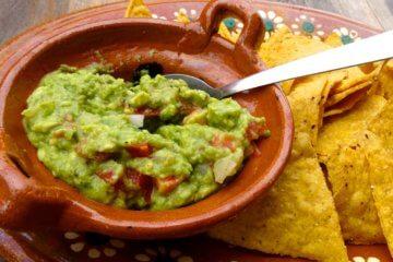 Essen und Trinken in Yucatán, hier: Guacamole