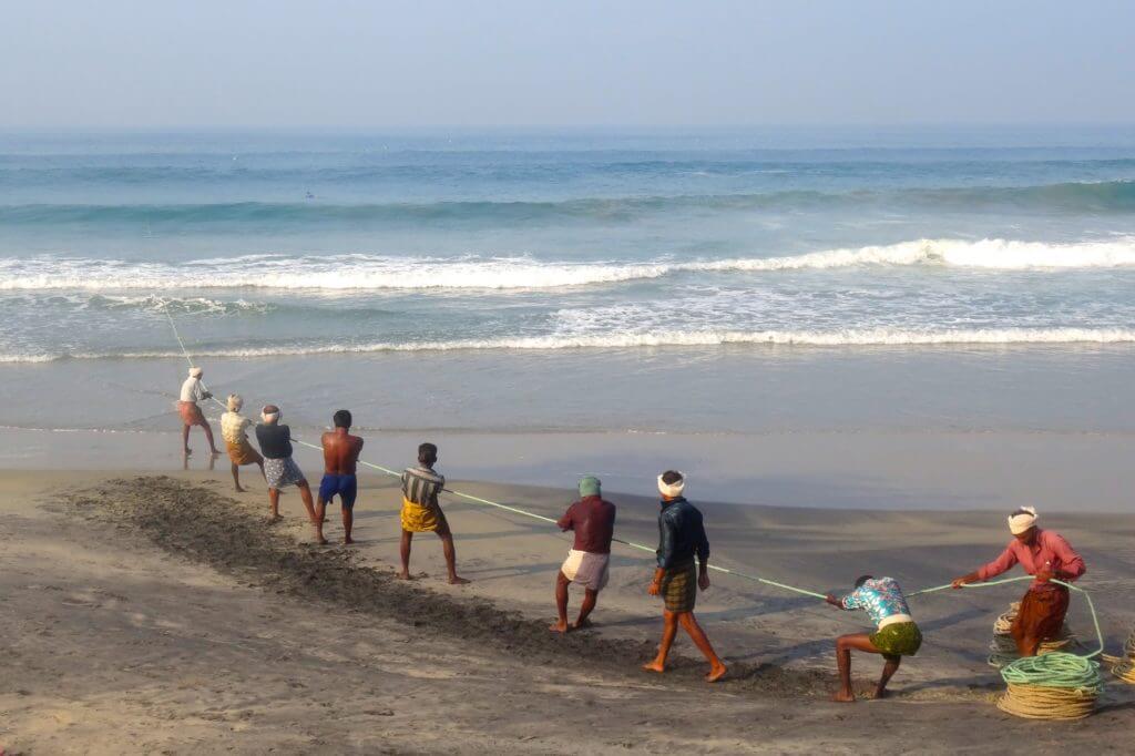 Fischer am Kovalam Beach