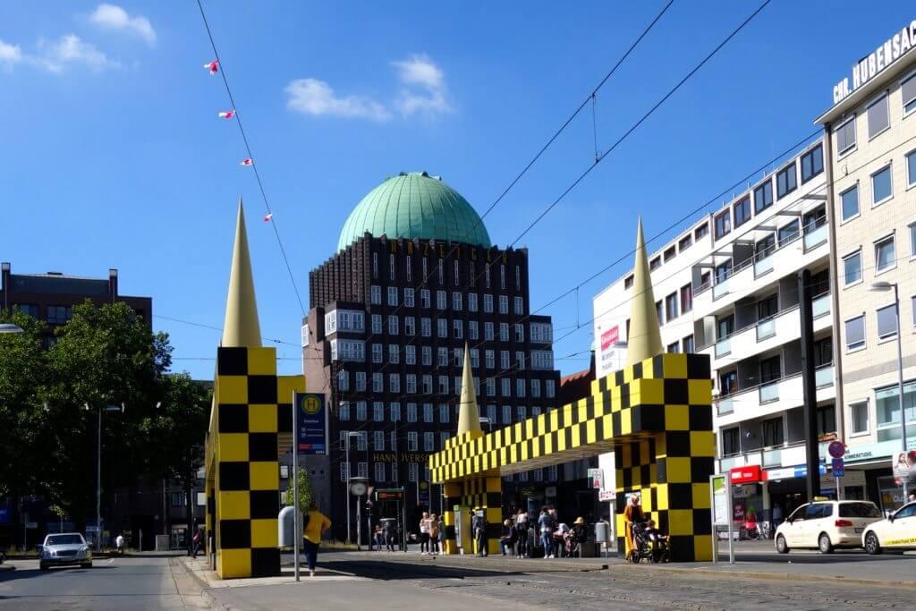 Sehenswürdigkeiten in Hannover, Anzeiger-Hochhaus am Steintor