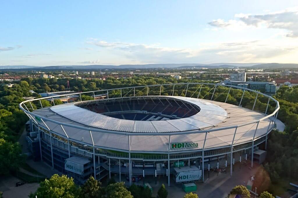 Sehenswürdigkeiten in Hannover, HDI-Arena, das ehemalige Niedersachsenstadion