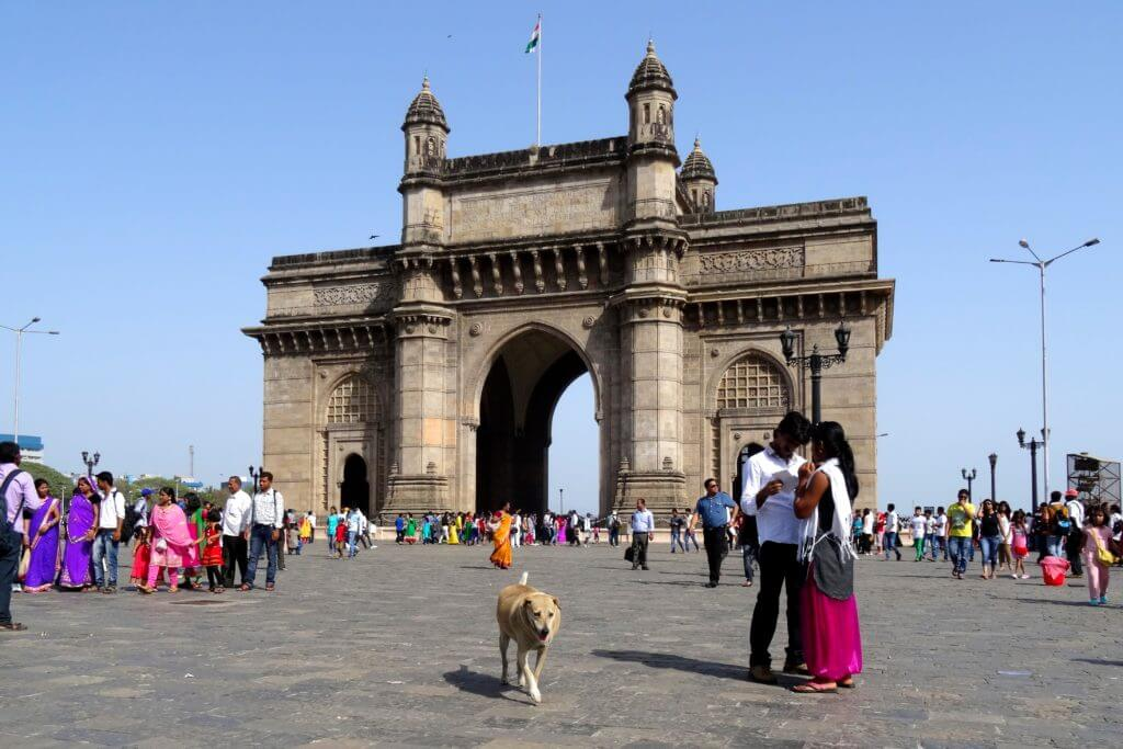 Kultur in Indien: Gateway of India in Bombay