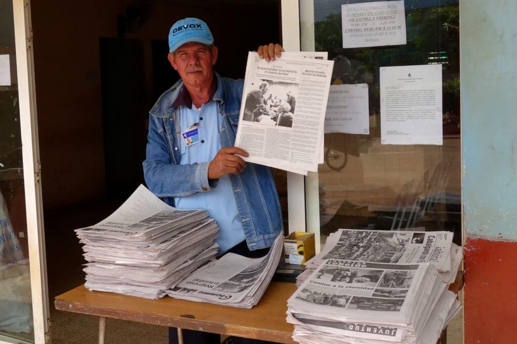 Fidel Castro, Zeitungen nach seinem Tod