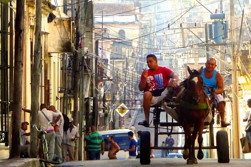 Jahresrückblick Reiseblog Groovy Planet. Impressionen aus den Straßen von Matanzas, Kuba