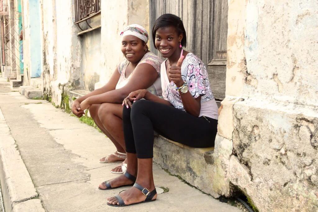 Jahresrückblick Reiseblog Groovy Planet, Frauen in den Straßen von Matanzas, Kuba
