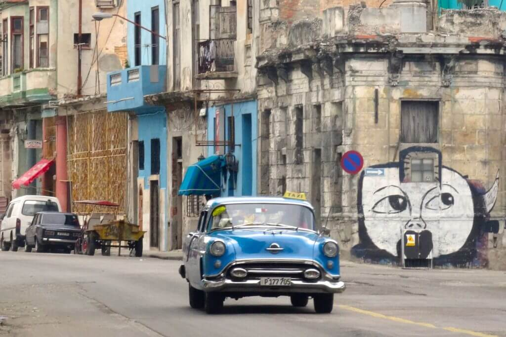 Jahresrückblick Reiseblog Groovy Planet, Impressionen aus den Straßen von Centro Habana