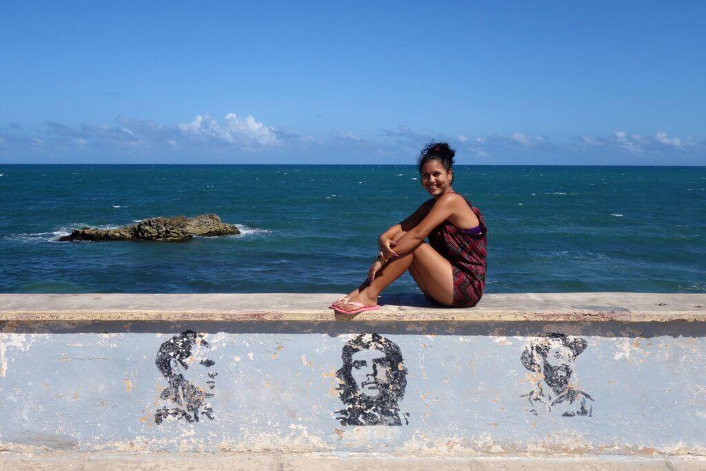 Casa Particular in Gibara, Kuba. Küstenimpressionen