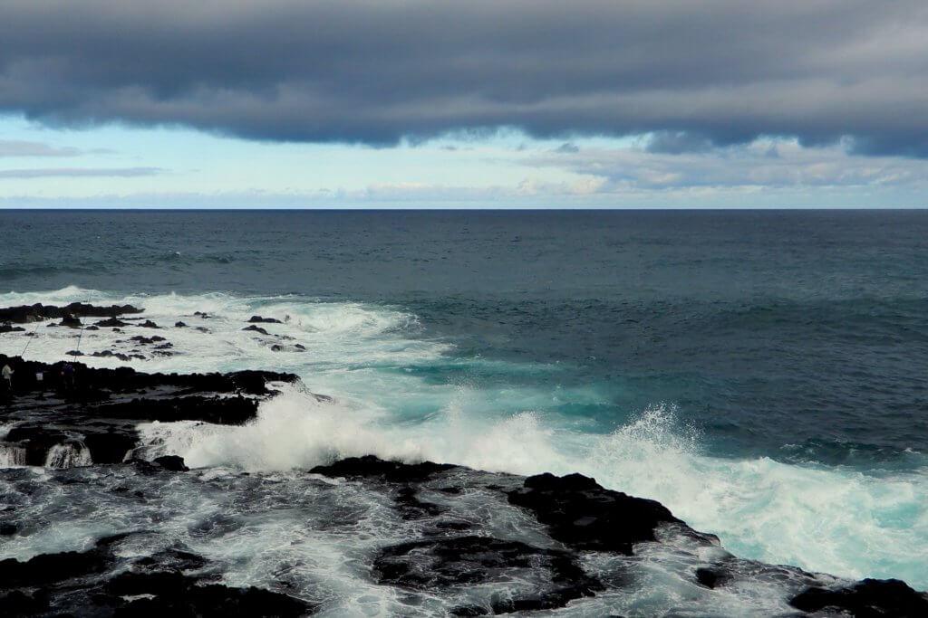 Küste bei Mosteiros auf dem Weg nach Sete Cidades.