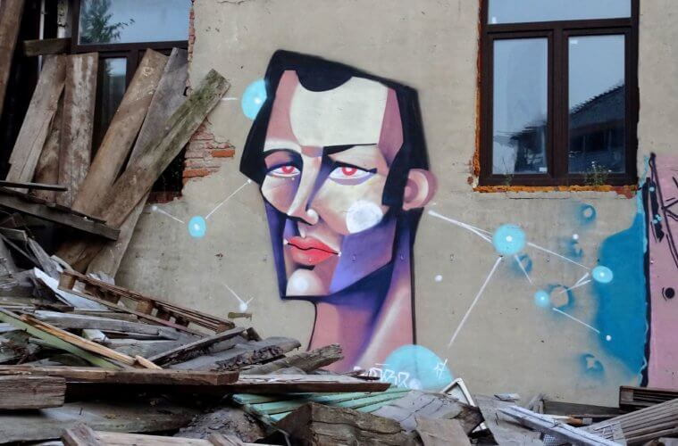 Street Art in Kasan, Tatarstan