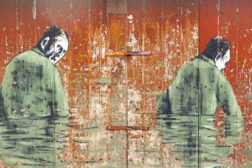 Street Art in Ponta Delgada, Azoreninsel São Miguel.