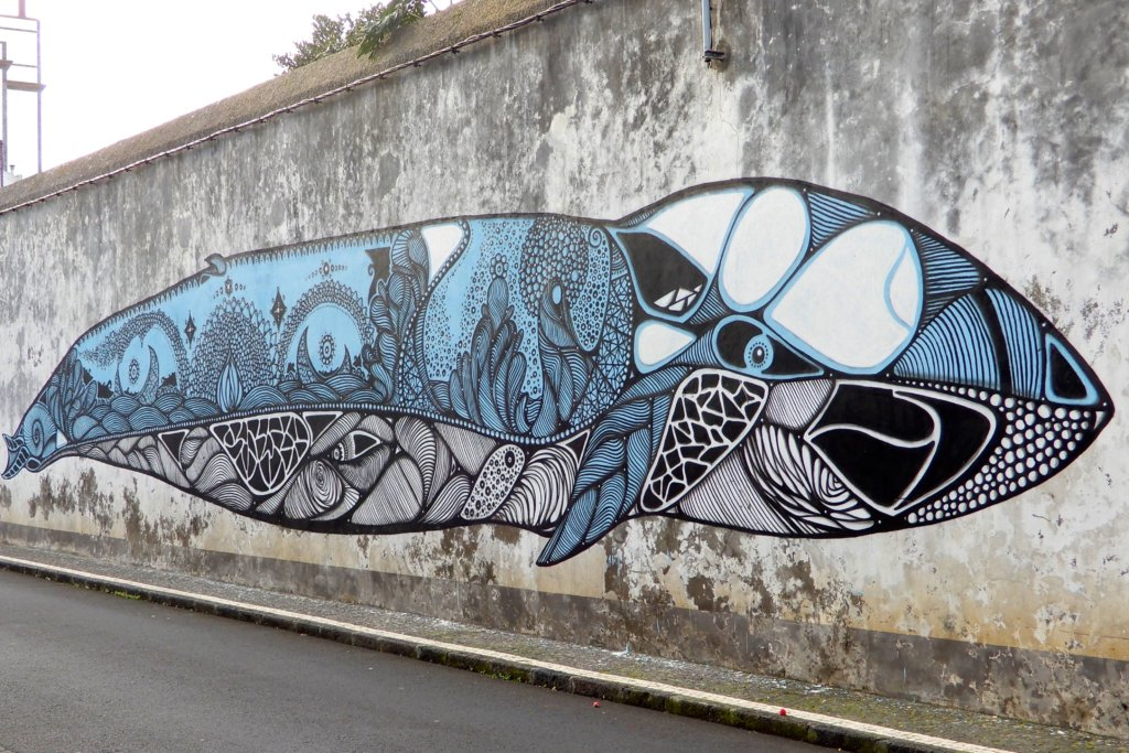 azoren street art in ponta delgada groovy planet. Black Bedroom Furniture Sets. Home Design Ideas
