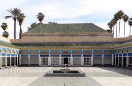 Bahia Palast in Marrakesch.