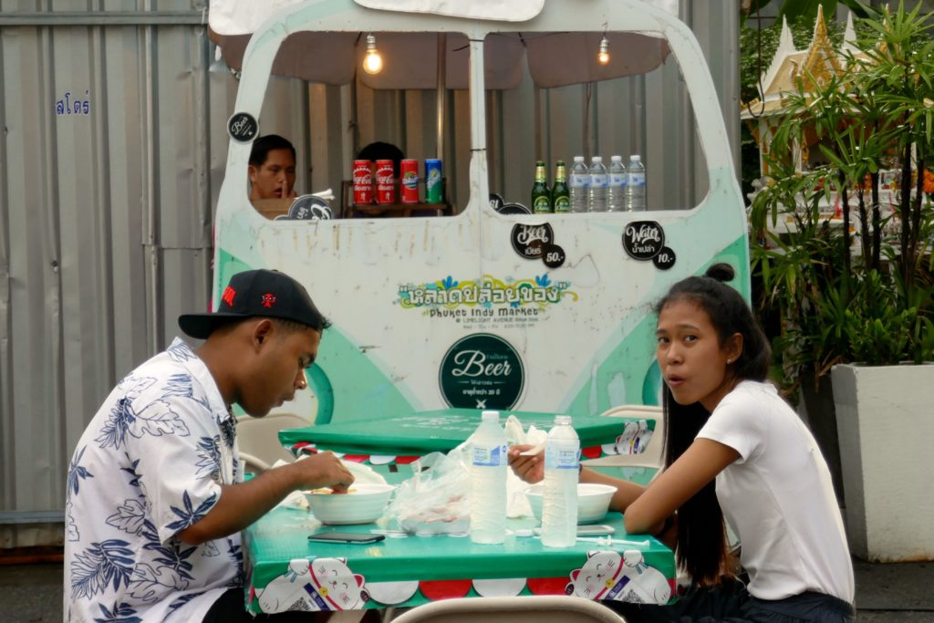 Indy Market in Phuket Town.