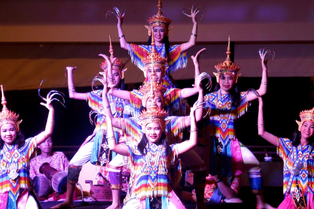 Kultur in Chumphon: traditioneller Tanz.