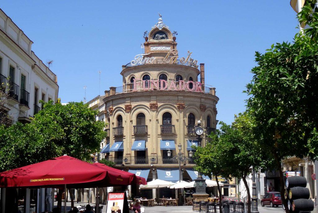 In der City von Jerez