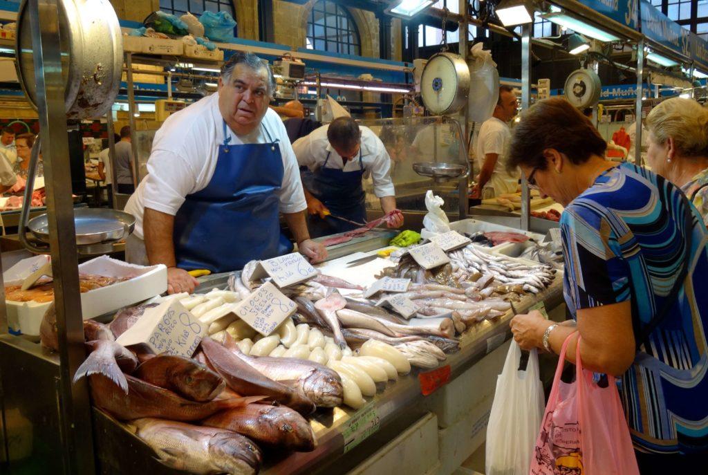 El Mercado Central de Abastos