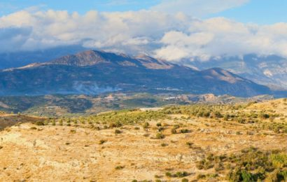 Messara Ebene auf Kreta