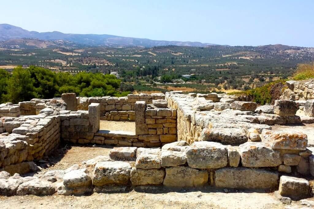 Ruinen des Palasts von Phaistos