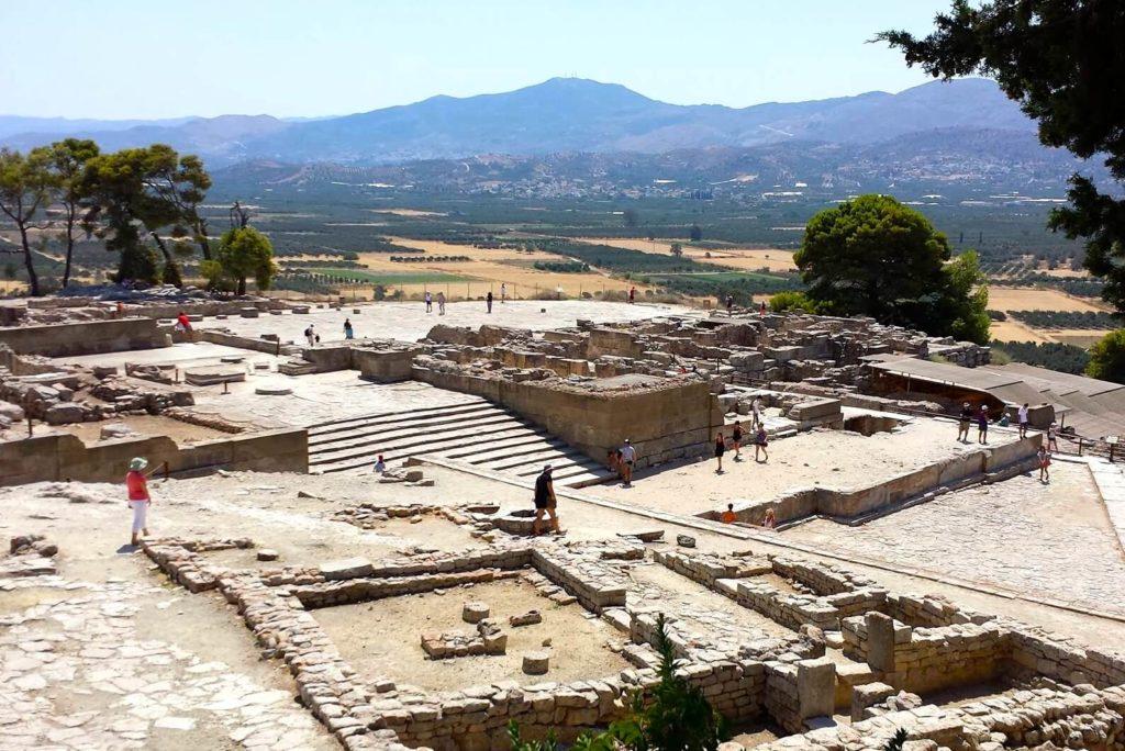 Historische Ausgrabungsstätten von Phaistos