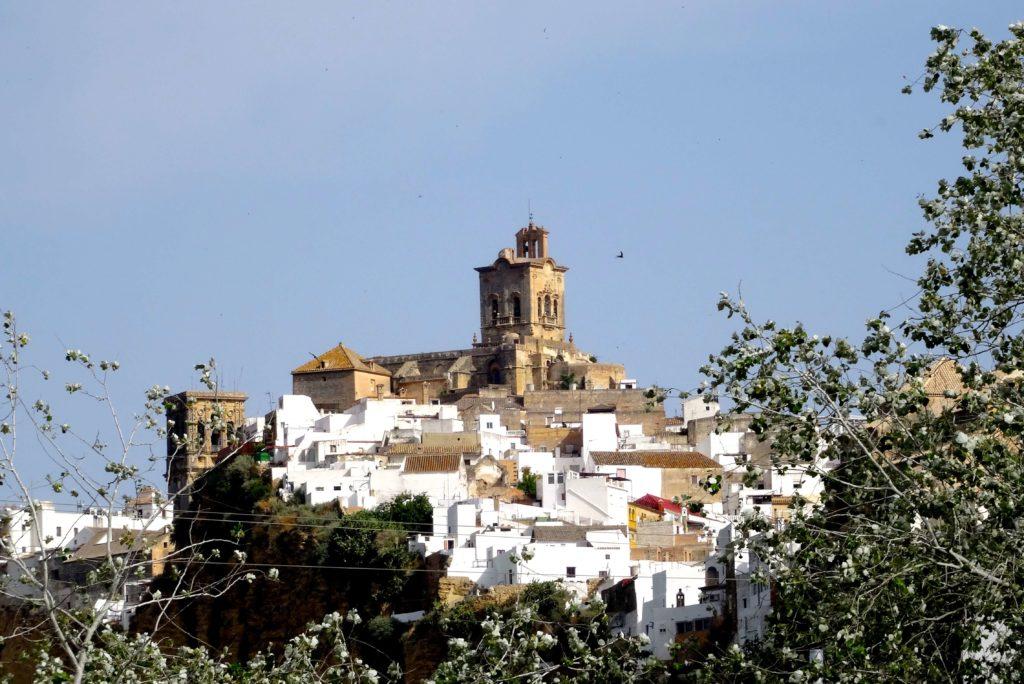 Blick auf Arcos de la Frontera