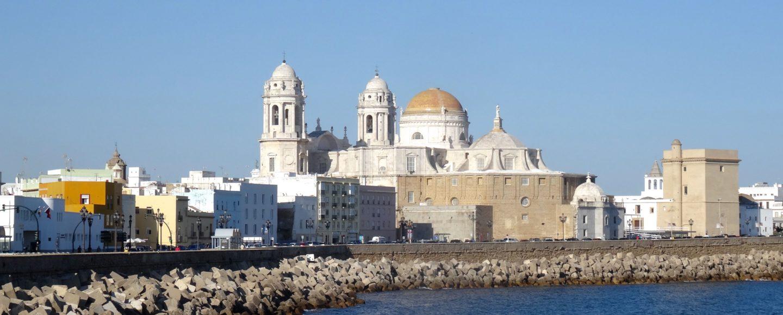 Blick auf Cádiz