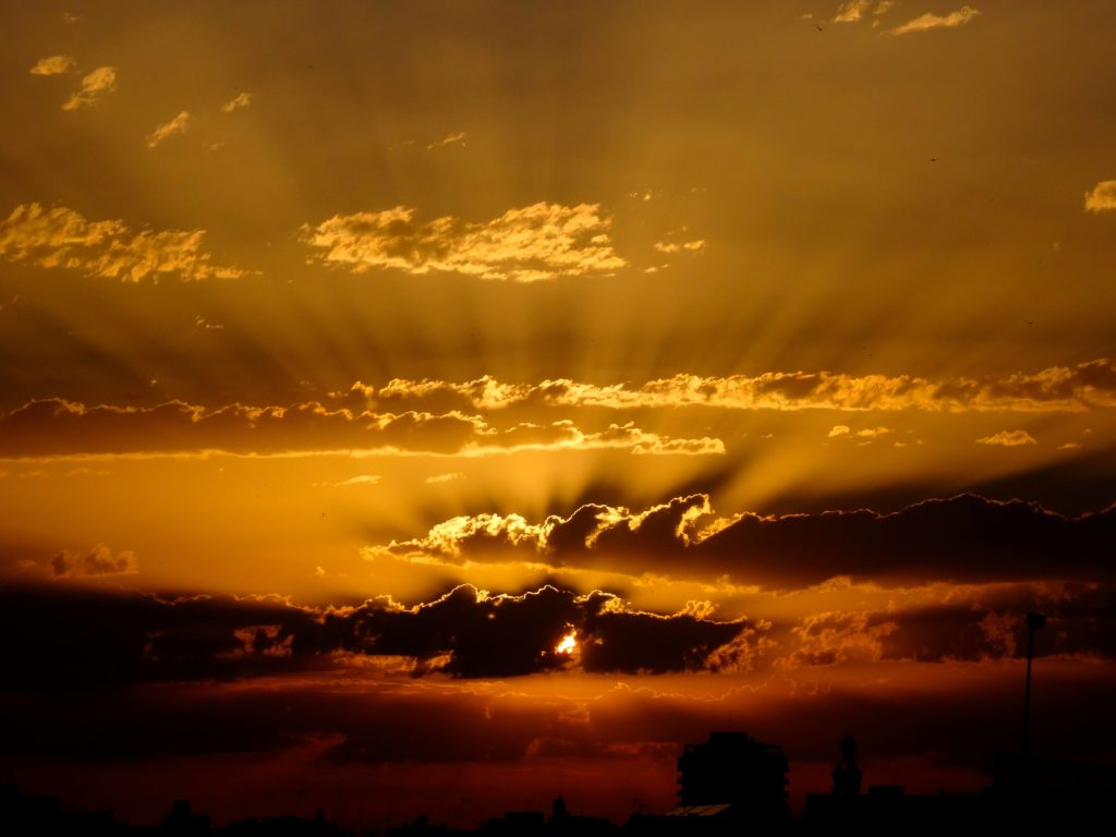 Letzter Sonnenuntergang in Cádiz
