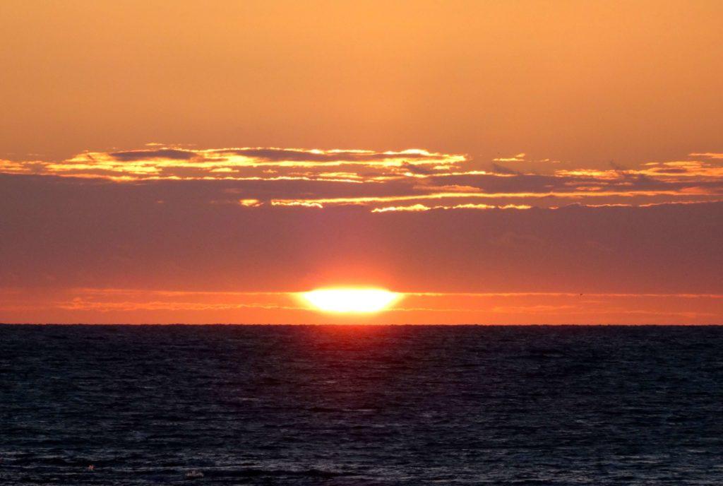 Sonnenuntergang über La Caleta