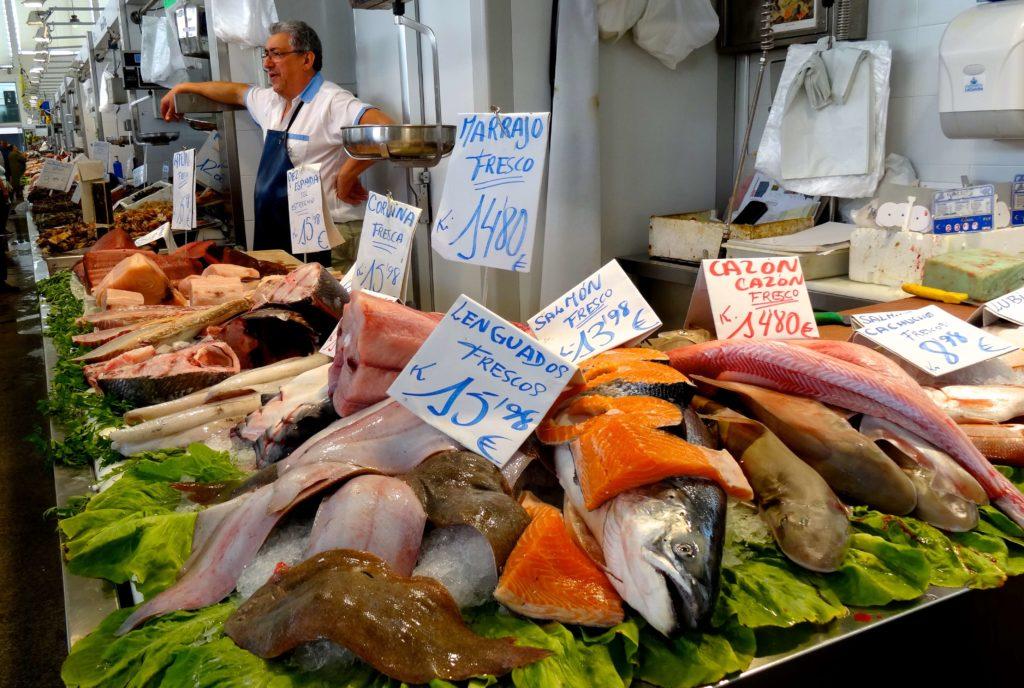 Auf dem Mercado Central de Abastos