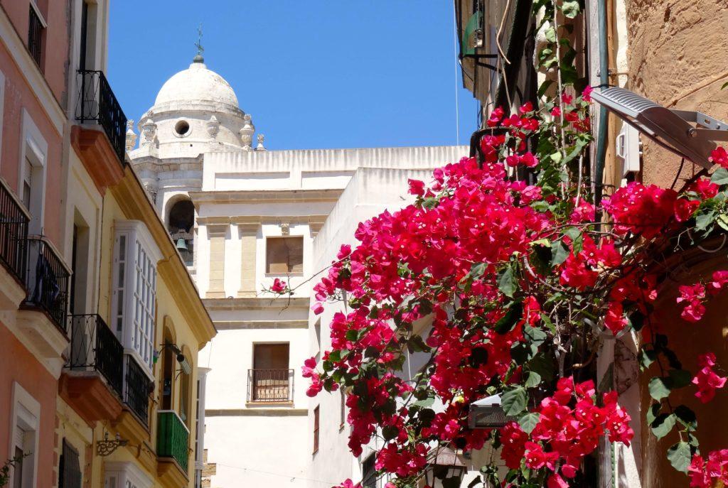 Cádiz - Blanca sieht Ähnlichkeiten mit dem kolumbianischen Cartagena