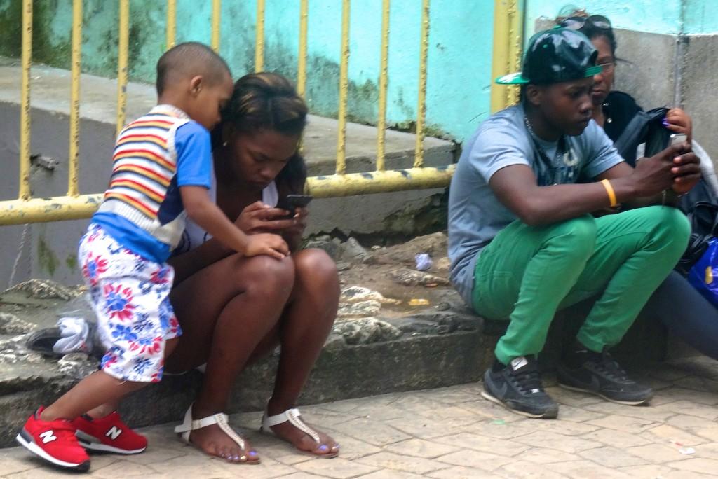 In der Fußgängerzone in Centro Habana