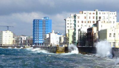 Malecón, Uferpromenade in Havanna, Kuba.