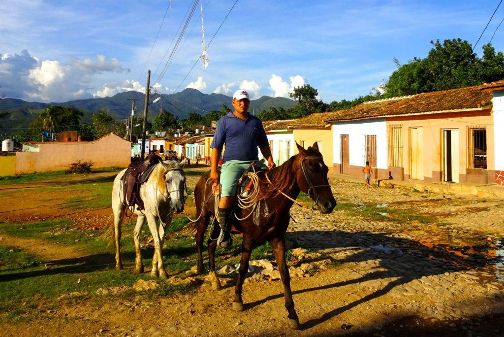 Trinidad in Kuba, kubanischer Cowboy