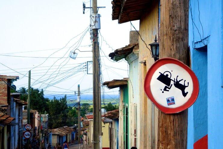 Trinidad in Kuba, auf der Straße