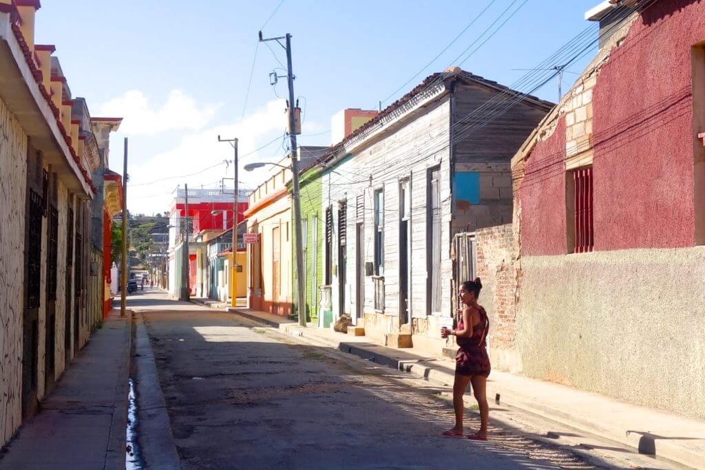Unterwegs in den Straßen von Gibara