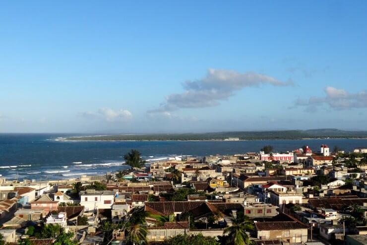 Gibara Kuba, Blick von El Cuartelón