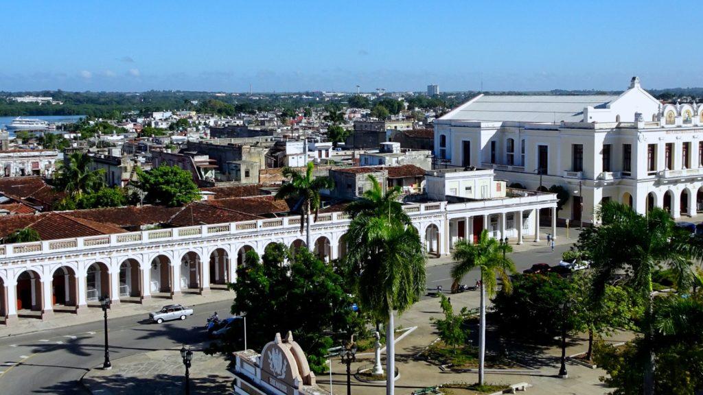 Cienfuegos, Blick über den Parque José Martí.